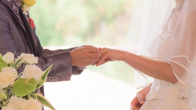 最短で結婚指輪の交換